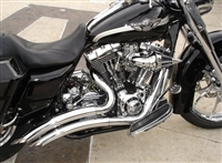 BIG RADIUS EXHAUST ALL BAGGERS 1995-2016 FLHT