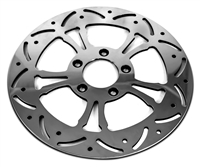 """C-2"" FRONT 11.8"" POLISHED BRAKE ROTOR HARLEY"