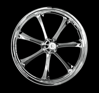 CHROME CRYSTAL WHEEL 21X3.5 FLH BAGGERS