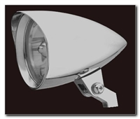 CYCLONE 4 1/2 HEADLIGHT CHROME