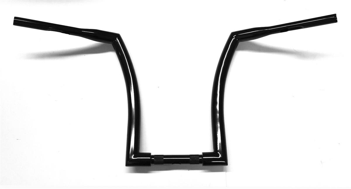 monster black ape hanger handlebars 16 u0026quot