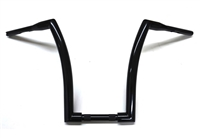 MONSTER BLACK APE HANGER HANDLEBARS 14""