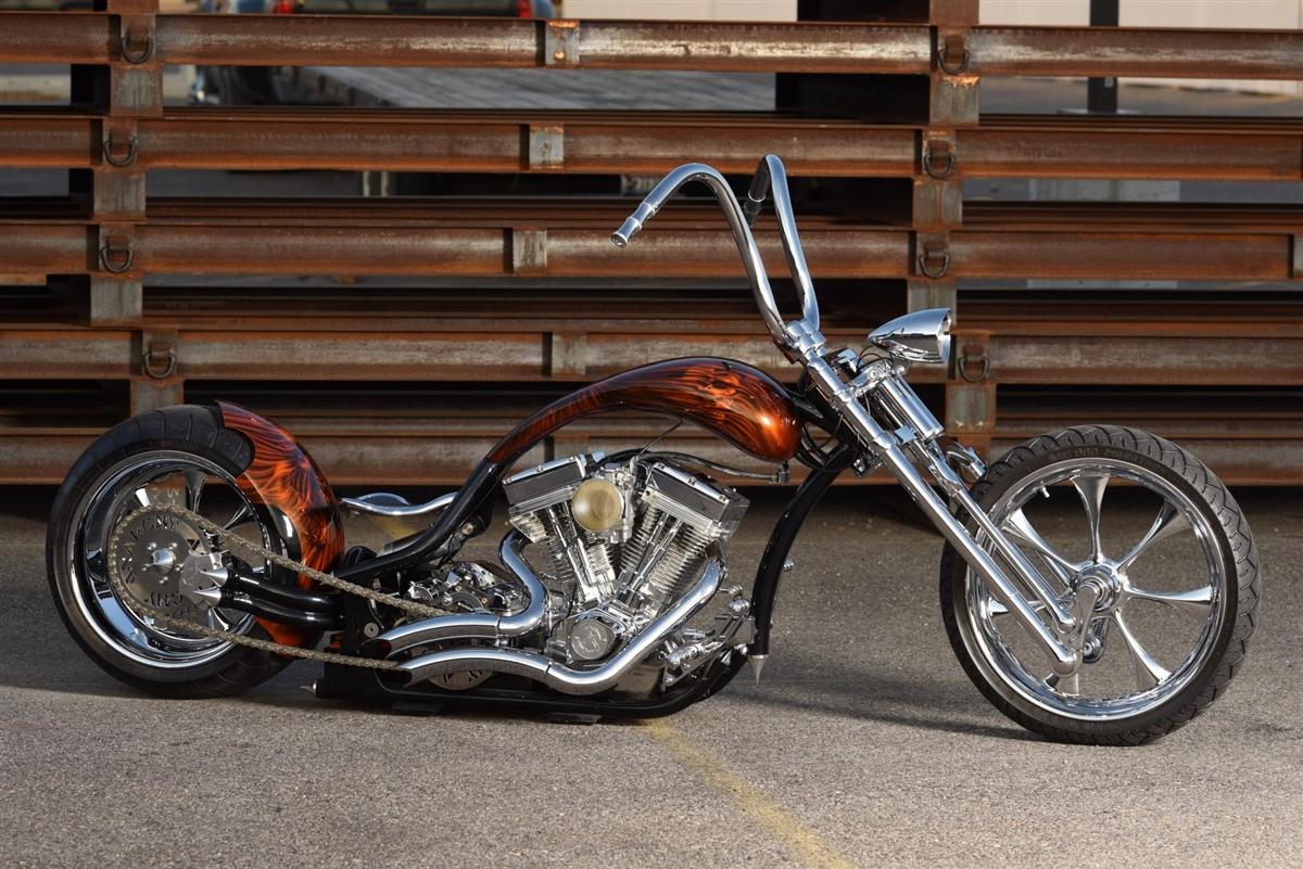 Chrome Radius Exhaust Pipes Right Side Drive Rsd Harley Chopper Bobber Custom