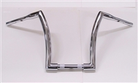 MONSTER CHROME APE HANGER HANDLEBARS 14""