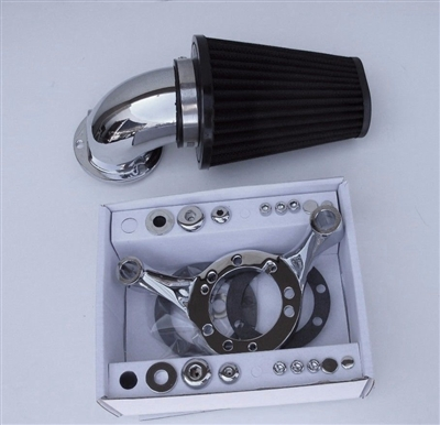 Chrome Screaming Eagle Style Air Cleaner Filter Kit Cv